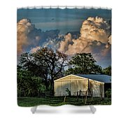 Evening Thunderstorms Shower Curtain