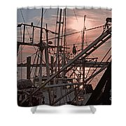 Evening Time On The St. Johns River Shower Curtain