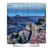 Evening View Shower Curtain