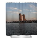 Eveninglight Baltimore Inner Harbor Shower Curtain