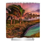 Evening's Kiss Shower Curtain