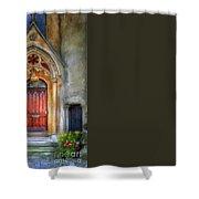 Autumn Evensong Shower Curtain