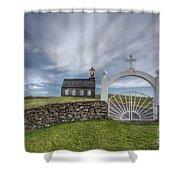 Ever Enchanted Shower Curtain by Evelina Kremsdorf