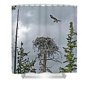 Ever Graceful Vertical Shower Curtain