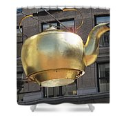 Ever Steaming Kettle Shower Curtain