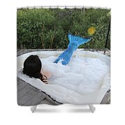 Everglades City Florida Mermaid 017 Shower Curtain
