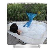 Everglades City Florida Mermaid 018 Shower Curtain