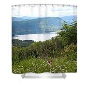 Evergreen Overlook Shower Curtain