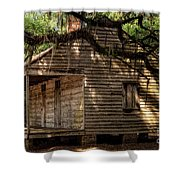Evergreen Plantation Slave Quarters Shower Curtain