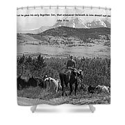 Everlasting Life Shower Curtain