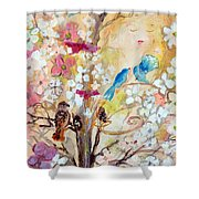 Love Everlasting Shower Curtain