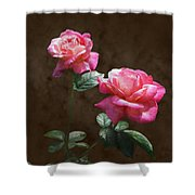 Everlasting Roses Shower Curtain