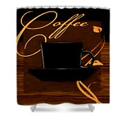 Every Cup Matters Shower Curtain