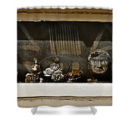 Every Picture Tells A Story Shower Curtain