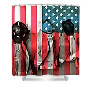 Everyday Heroes Shower Curtain
