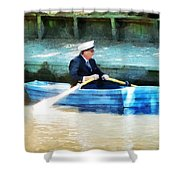Everyone Is The Captain Of Their Own Boat Shower Curtain