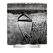 Everything Has Its Time Shower Curtain