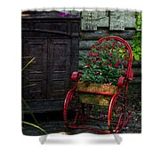 Everything Old Is New Again Shower Curtain