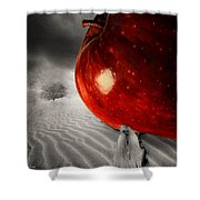 Eve's Burden Shower Curtain by Lourry Legarde