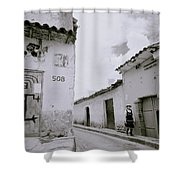 The Life Of Cuzco Shower Curtain