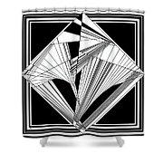 Evocative Shower Curtain