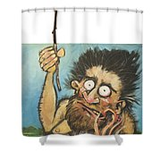 Evolution Number One Shower Curtain