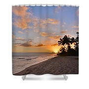 Ewa Beach Sunset 2 - Oahu Hawaii Shower Curtain by Brian Harig