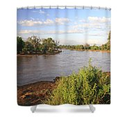 Ewaso Nyiro River Shower Curtain