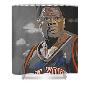 Ewing Shower Curtain by Don Medina