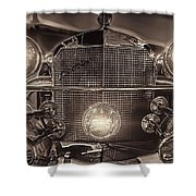 Excalibur Mug Shower Curtain