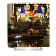 Excalibur Reflection Shower Curtain