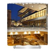 Excavations At Acropolis Museum Shower Curtain