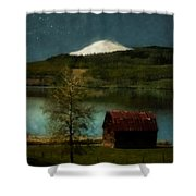 Excellence And Peace Shower Curtain