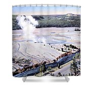 Excelsior Geyser, Yellowstone Np, 20th Shower Curtain