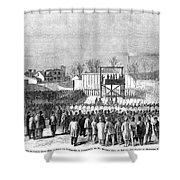 Execution Of Henry Wirzhenry Wirz Shower Curtain