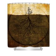 Exemplar Shower Curtain