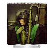 Exene  Shower Curtain