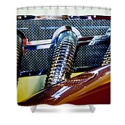 Exhaust Shower Curtain
