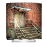 Exit 4525 Shower Curtain