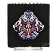 Exit Angel Wings Shower Curtain