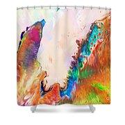 Exmouth Gulf Shower Curtain