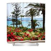 Exotic Beach Shower Curtain
