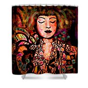 Exotic Beauty Shower Curtain