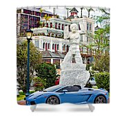 Exotic New Orleans Shower Curtain