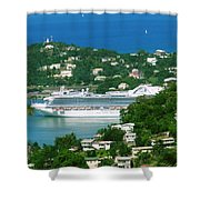 Exotic Port Shower Curtain