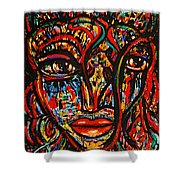 Exotic Priestess Shower Curtain