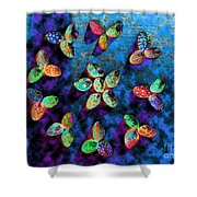 Exotic Shells 1 Shower Curtain