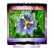 Exotic Strange Flower Shower Curtain