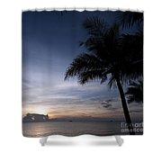 Exotic Sunrise Shower Curtain