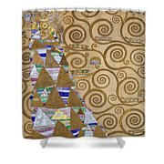 Expectation Preparatory Cartoon For The Stoclet Frieze Shower Curtain
